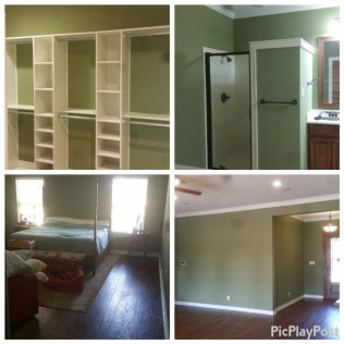 Interior paint and flooring